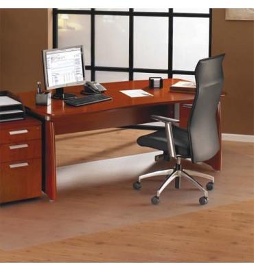 FLOORTEX Tapis protège-sol polycarbonate pour sol dur rectangle 119 x 75