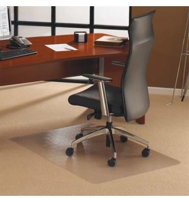 FLOORTEX Tapis protège-sol polycarbonate pour moquette rectangle 121X152