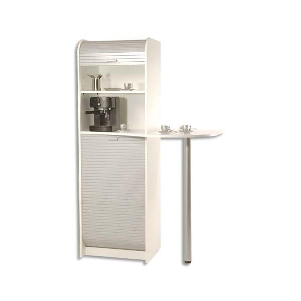 simmob meuble de rangement pour machine caf et four micro ondes 3 colis. Black Bedroom Furniture Sets. Home Design Ideas