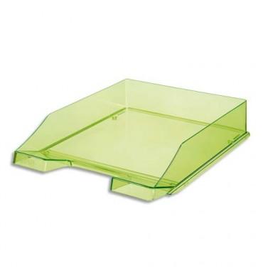 HAN Corbeille à courrier 25,5 x 6,5 x 34,8 cm coloris vert cristal