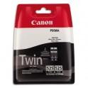 CANON Cartouche TWINPACK PGI 525BK