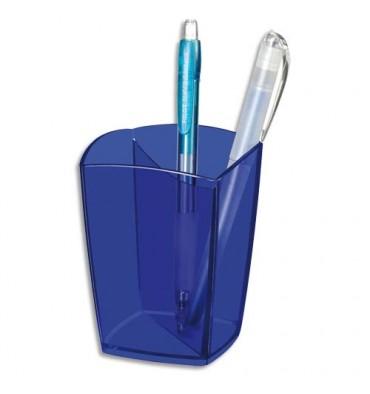 CEP PRO BY CEP Pot à crayons bleu transparent