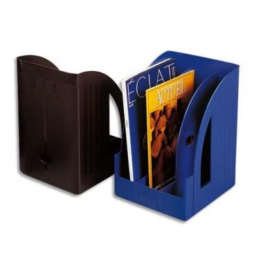 LEITZ Porte-revues Jumbo Leitz Plus - Noir (hxp) 32 x 25,5 cm - Dos 21 cm