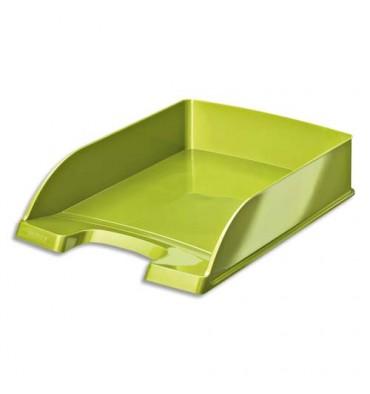 LEITZ Corbeille à courrier Leitz Plus - WOW vert métallisé