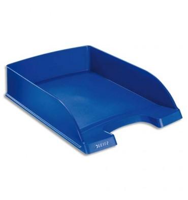 LEITZ Corbeille à courrier Leitz Plus standard - Bleu foncé - Dim L25,5 x H7 x P36 cm