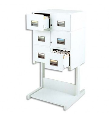 VALREX Stand fixe pour fichier à tiroirs format A5 en largeur