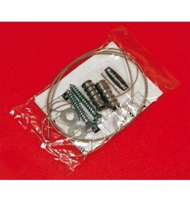 RUBBERMAID Kit de sécurité pour borne cigarette Groundskeeper Tuscan