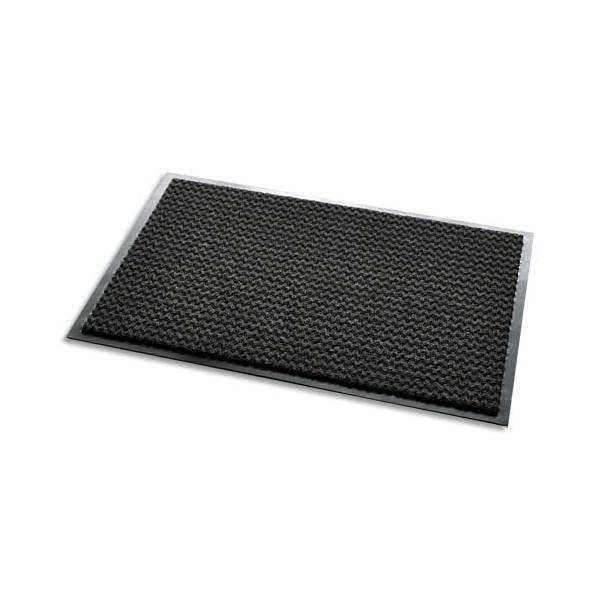 3M Tapis d'accueil Aqua Nomad noir 65 double-fibres 90 x 60 cm épaisseur 7,5 mm (photo)