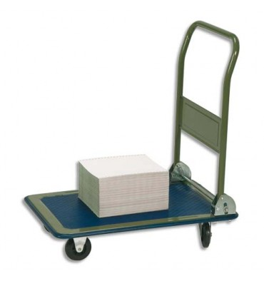 SAFETOOL Chariot pliable en acier charge maximale 150 kg