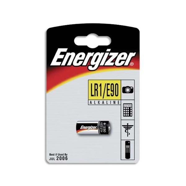 ENERGIZER Blister de 1 pile ALCALINE LR01 E90 (photo)