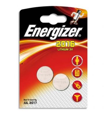 ENERGIZER Blister de 2 piles calculatrices/photo A76 LR44