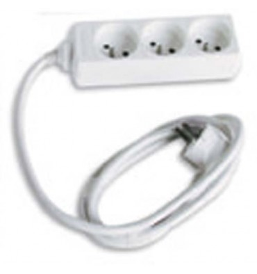 JPC Bloc multiprises électriques 3 prises électriques 1,5 m