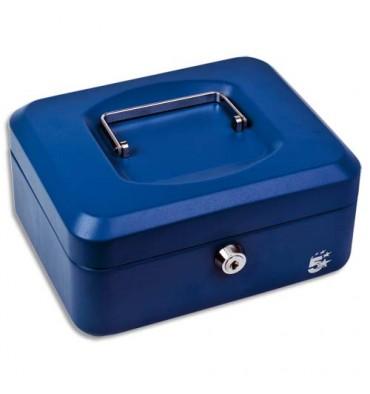 5 ETOILES Caisse à monnaie bleue - Dimensions : 30 x 9 x 24 cm
