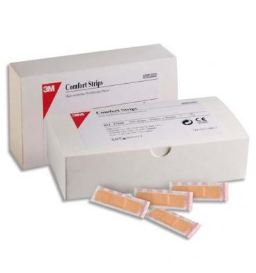 NEXCARE Boîte de 100 pansements micro-aéré Comfort 1,9 x 7,6 cm