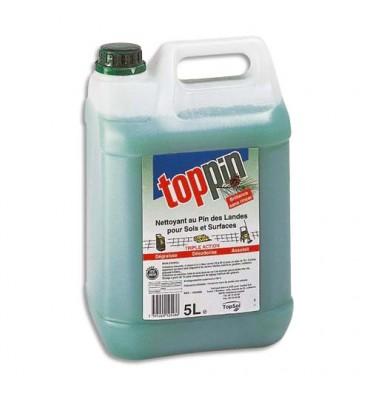 TOPPIN Bidon de 5 litres nettoyant parfum pin des landes
