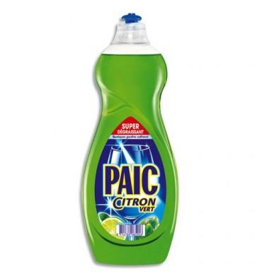 PAIC CITRON Flacon de 750 ml de liquide vaisselle main parfumé citron vert