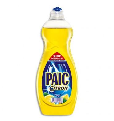 PAIC CITRON Flacon de 750 ml de liquide vaisselle main parfumé citron
