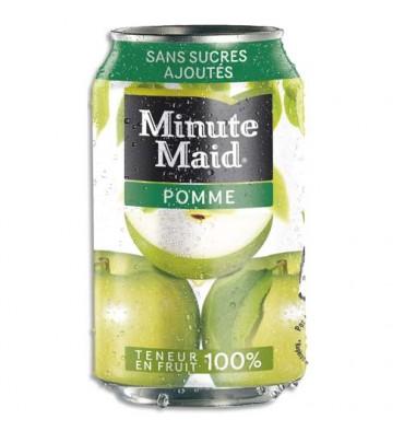 MINUTE MAID Cannette de jus de pomme de 33 cl