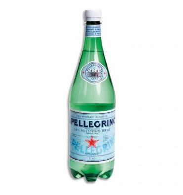 SAN PELLEGRINO Bouteille d'eau minérale gazeuse de 1 litre