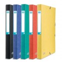 ELBA Boîtes de classement personnalisable Eurofolio. En carte lustrée. Dos de 25 mm. Coloris assortis