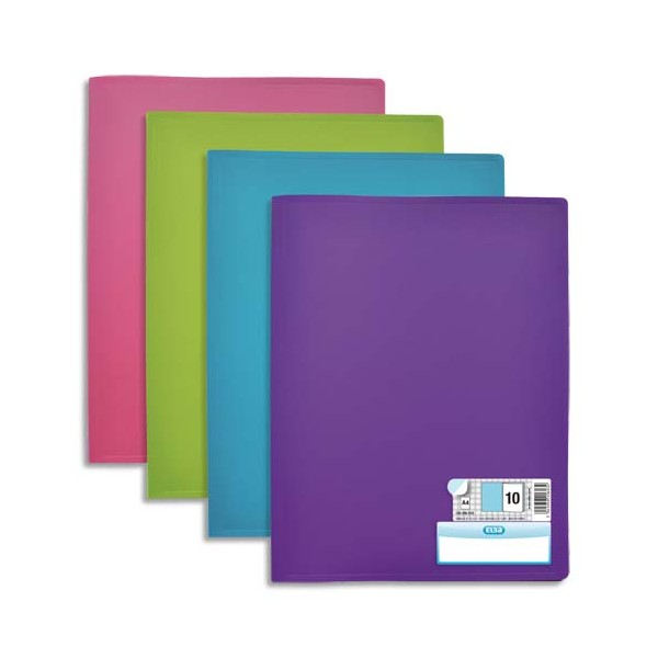 Elba 10 prot ge documents mode 60 vues 30 pochettes for Protege document 60 vues
