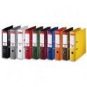 ESSELTE Classeurs à levier à dos de 5 cm plastifié intérieur et extérieur assortis standard