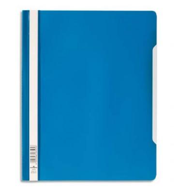 DURABLE Chemise de présentation à lamelles en PVC bleu