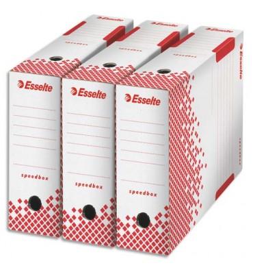 ESSELTE Boîtes archives Speedbox dos de 10 cm