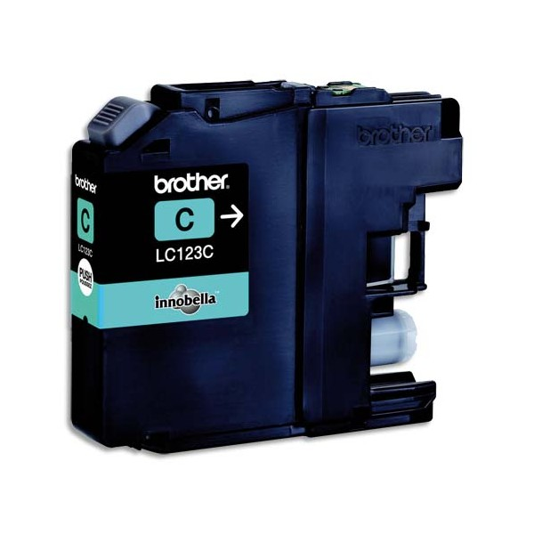 BROTHER Cartouche jet d'encre cyan LC123C (photo)
