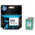 HP Lot de 3 cartouches jet d'encre couleurs N°343