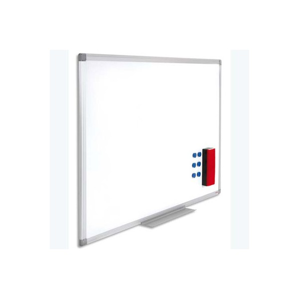 juvenilia tableau blanc magn tique laqu cadre alu dimensions l180xh90 cm. Black Bedroom Furniture Sets. Home Design Ideas