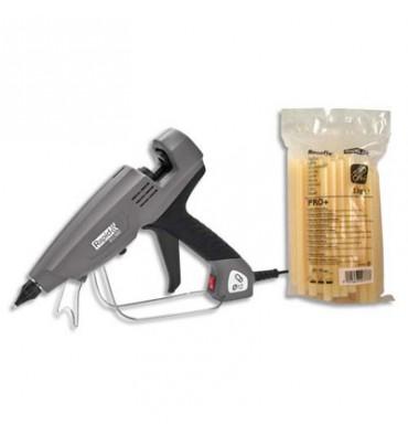 RAPID Pistolet à colle professionnel, pour la fixation de câbles + 2,2 kg de colle offerte