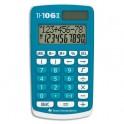 TEXAS INSTRUMENTS Calculatrice 4 opérations pour classes primaires TI 106 S