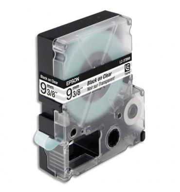 EPSON Ruban pour LabelWorks Noir / Transparent 9 mm x 9 m - LK-3TBN