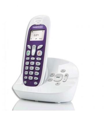 SAGEMCOM Téléphone sans fil Dect D271A SOLO + répondeur 253532543