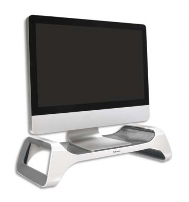 FELLOWES Gamme I-SPIRE Support moniteur gris/blanc 9311102