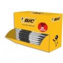 BIC Pack éco de 30+6 stylo bille ATLANTIS noir, pointe moyenne, rechargeable, bille indéformable