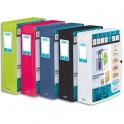 ELBA Boîtes de classement personnalisable POLYVISION, format 24 x 32 cm, dos 8 cm coloris assortis opaque