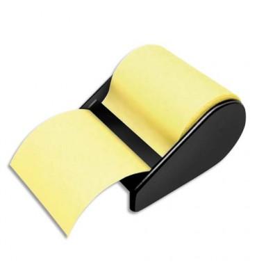 JPC Devidoir avec notes repositionnables jaune, 60 mm x 10m