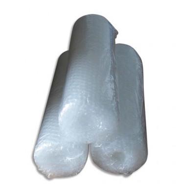 EMBALLAGE Rouleau de film à bulles transparent en polyéthylène ecologique - 0,4 x 5 métres, 50 microns