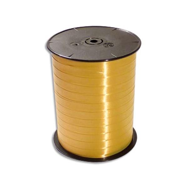 CLAIREFONTAINE Bobine bolduc de comptoir lisse coloris or 500m x 7mm (photo)