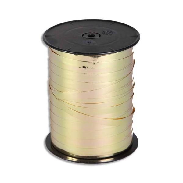 CLAIREFONTAINE Bobine bolduc de comptoir coloris or brillant 250m x 10mm (photo)