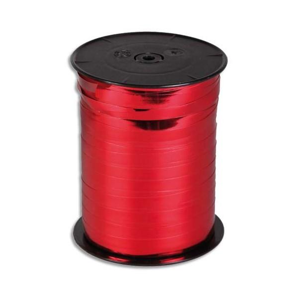 CLAIREFONTAINE Bobine bolduc de comptoir coloris rouge brillant 250m x 10mm (photo)