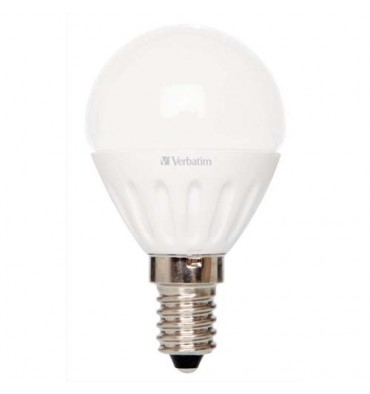VERBATIM Ampoule LED mini globe E14, 3,5 Watts équivalence 25 Watts