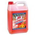 JEX Professionnel Bidon de 5 litres désinfectant triple action multi-surfaces Vergers de Provence