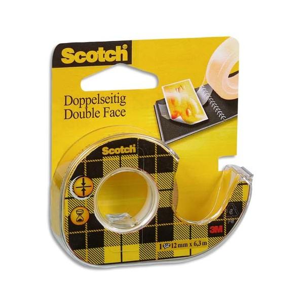 Ruban adh sif scotch double face repositionnable - Comment enlever du scotch double face ...