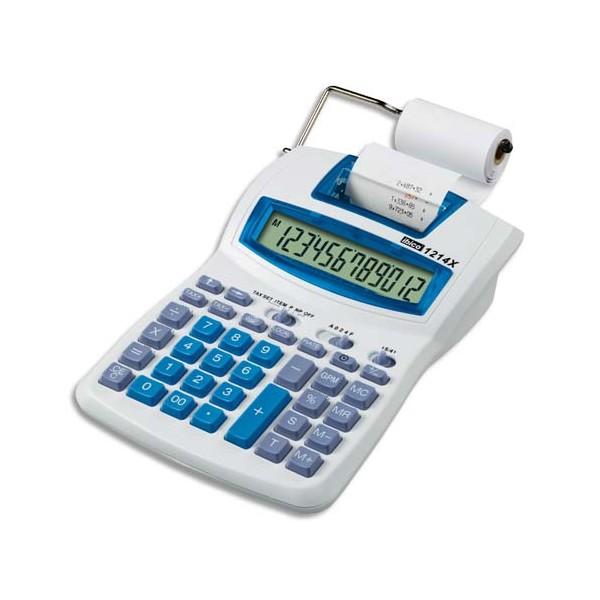 Ibico calculatrice imprimante semi professionnelle gris bleu for Fourniture bureau professionnelle