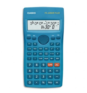 CASIO Calculatrice primaire FX JUNIOR bleue