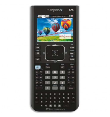 TEXAS INSTRUMENTS Calculatrice graphique TI-NSPIRE CX CAS