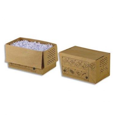 REXEL Pack de 20 sacs papier recyclables pour destructeur 80X 20 litres 1765028EU